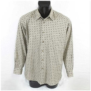 *MEN* CLAIBORNE, Button Up Shirt, size Large